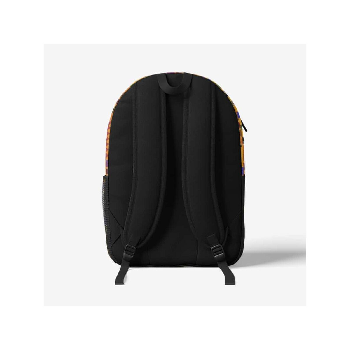 Afrocentric Kente Backpack