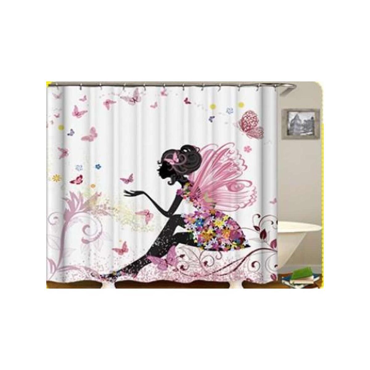 African Queen shower curtain, 165x180 / yl0580#