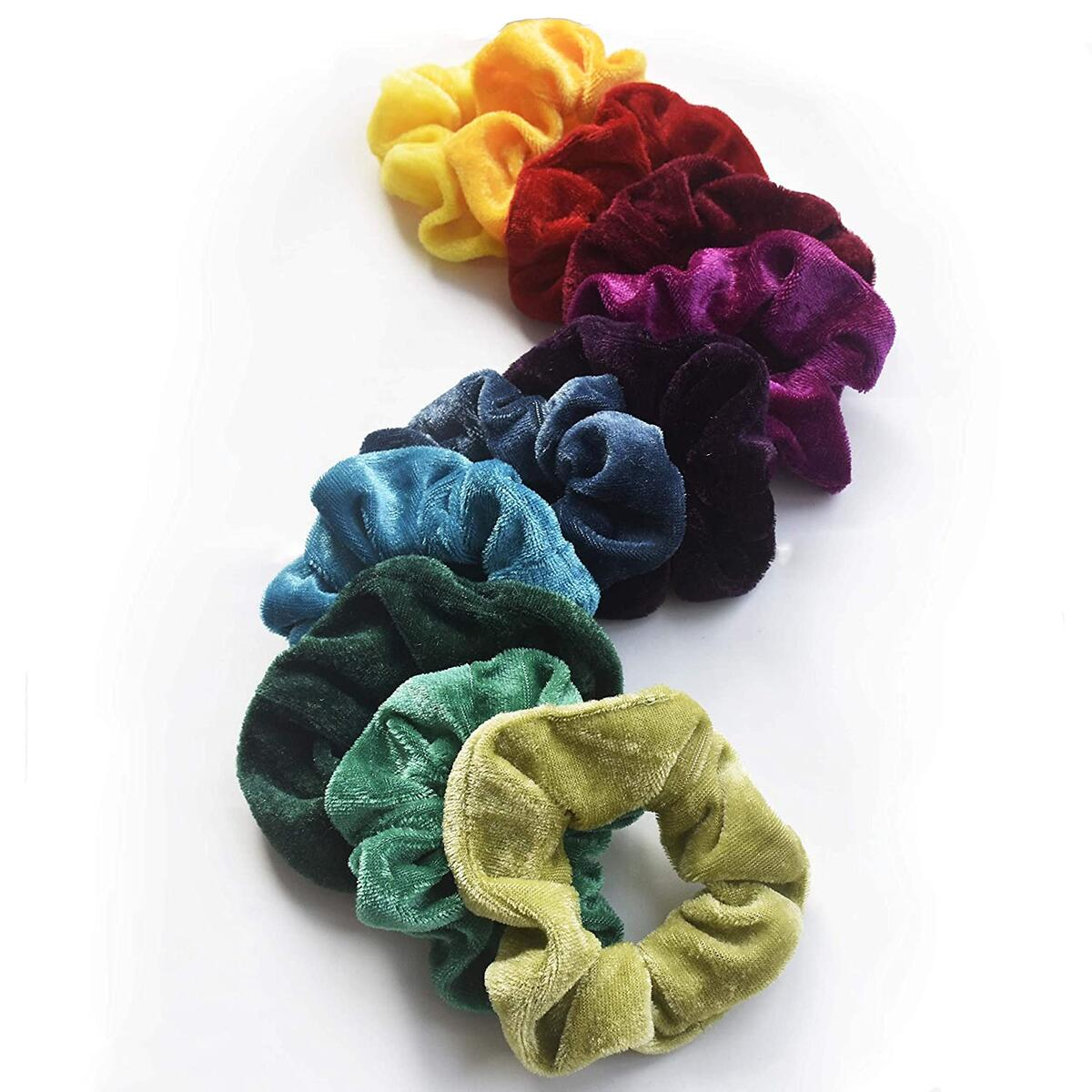Scrunchies 60 Assorted Colors