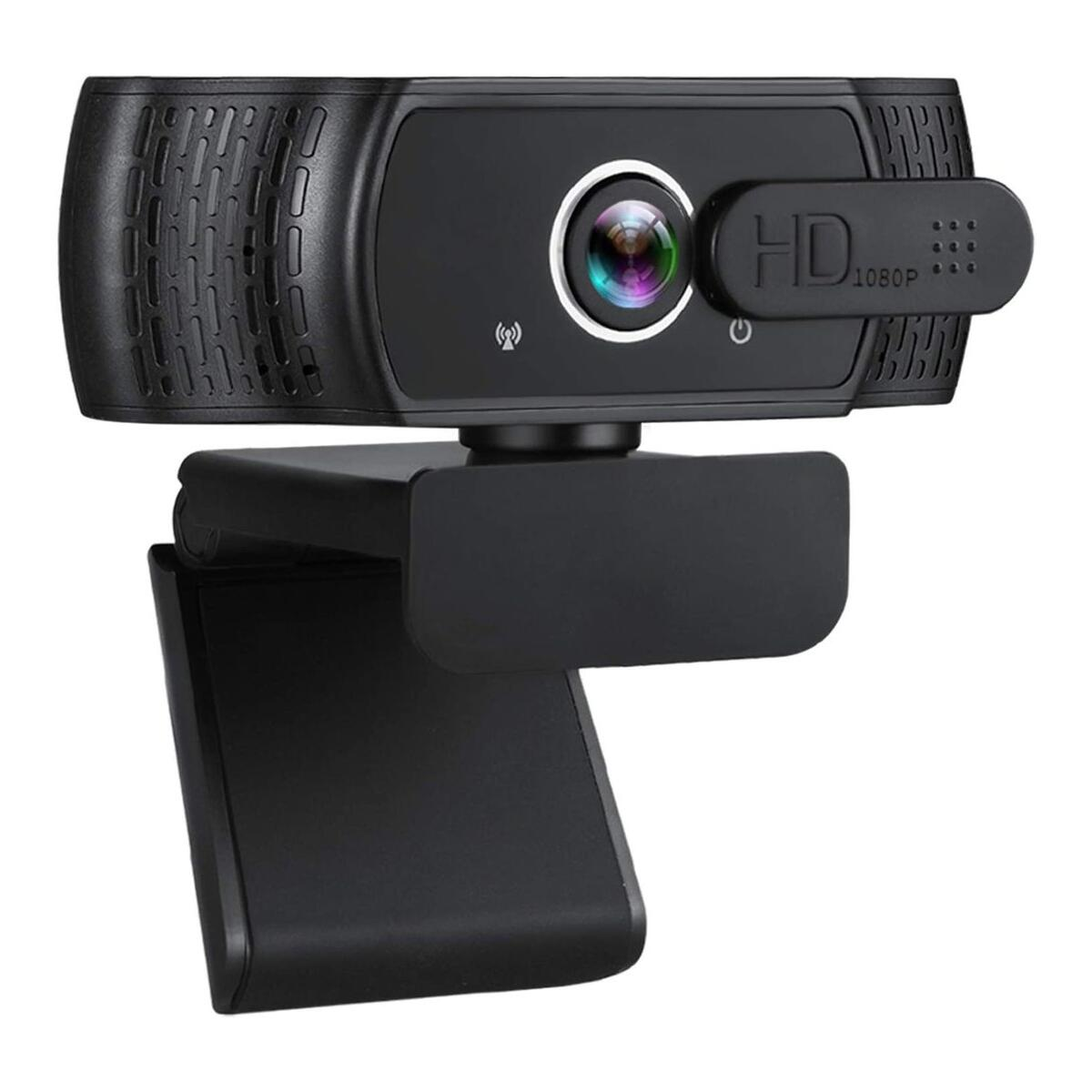 1080P HD USB Webcam with Privacy Cover
