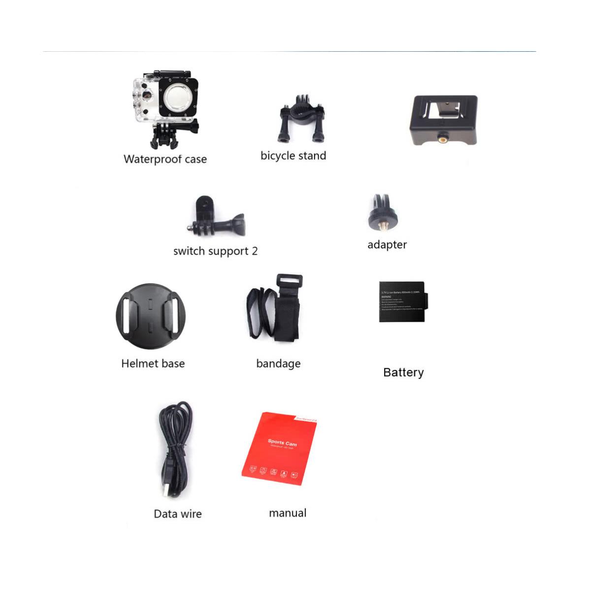 A7 - High Definition - Mini DV Sport Action Camera