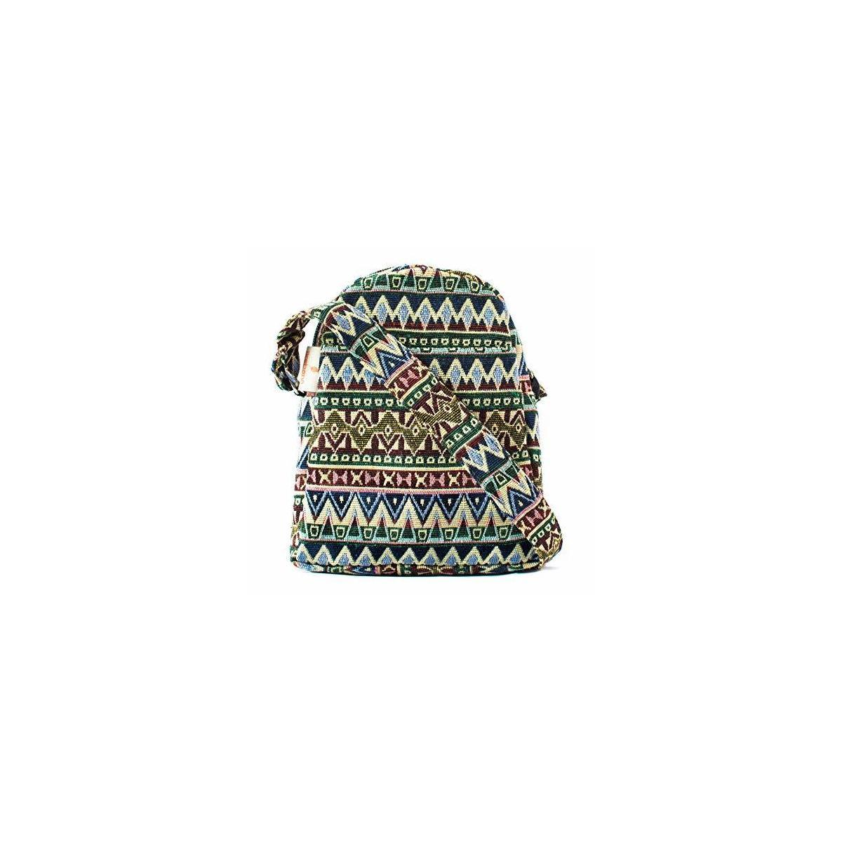 Ikebana Handmade Crossbody Bags for Women Brocade Purse Cell Phone and Travel