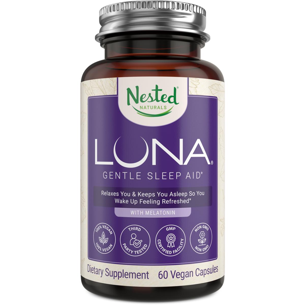 Nested Naturals LUNA Gentle Sleep Aid | #1 Sleep Aid on Amazon