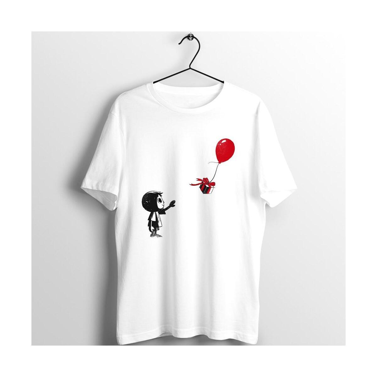 Villager with a Balloon Shirt, Villager with Balloon / XXXL