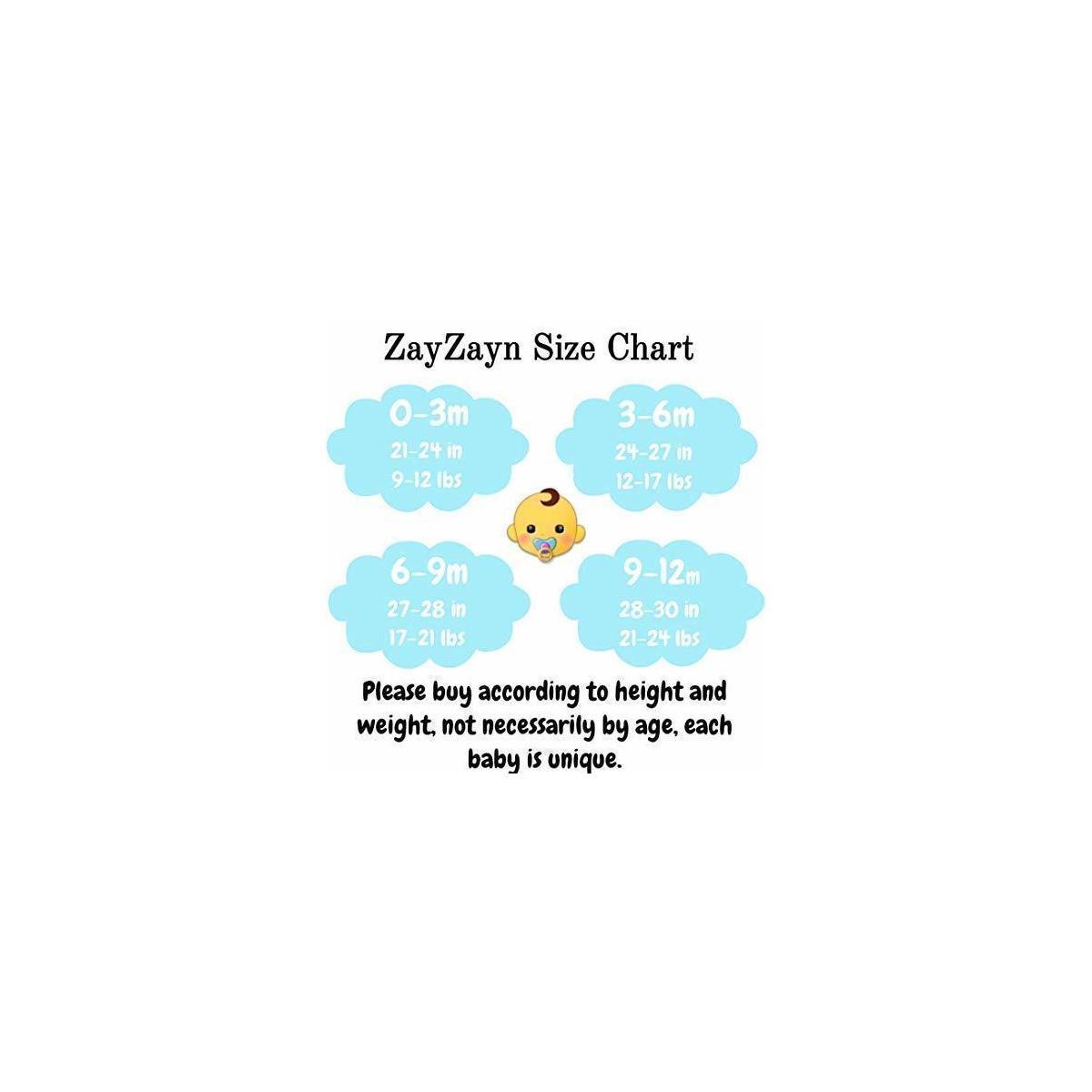 ZayZayn Baby Boys' 5-Pack Short-Sleeve Cotton Onesie