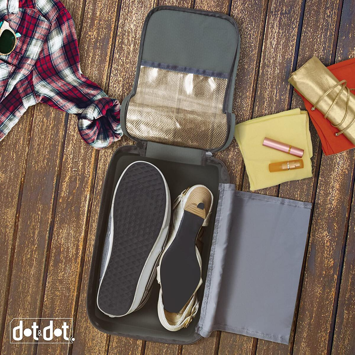 Dot&Dot - Shoe Bag - Convenient Packing System For Your Shoes When Traveling