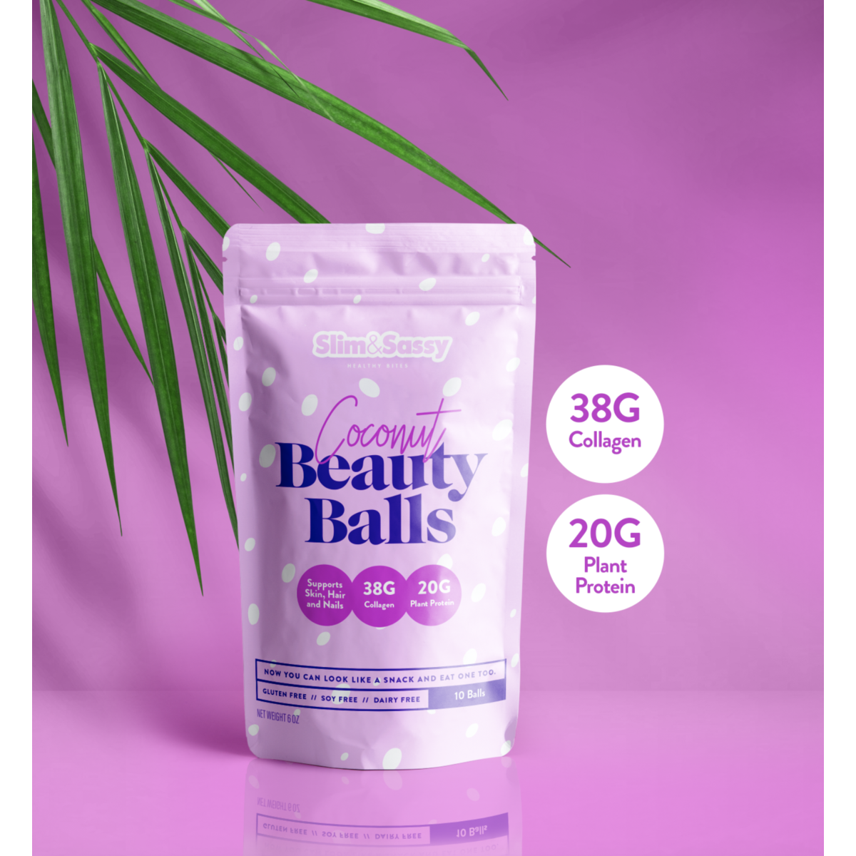 Collagen Beauty Snack (38G Collagen & 20G Protein)