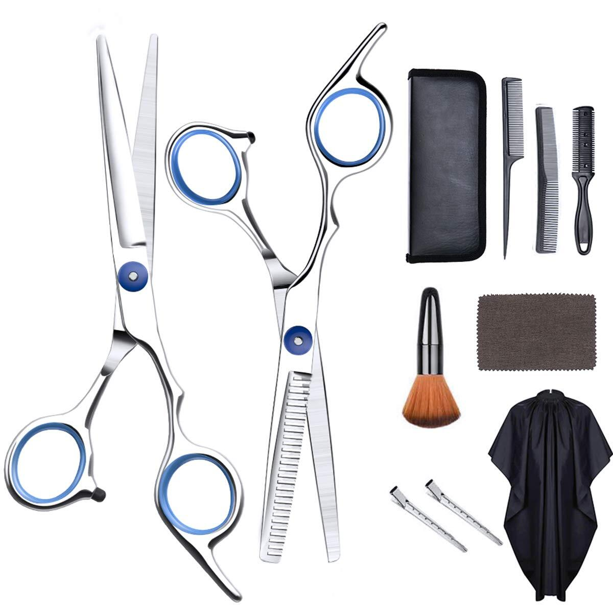 Hair Cutting Scissors - JOYSON Professional Hair Cutting Shears Set 11 PCS, 6.65