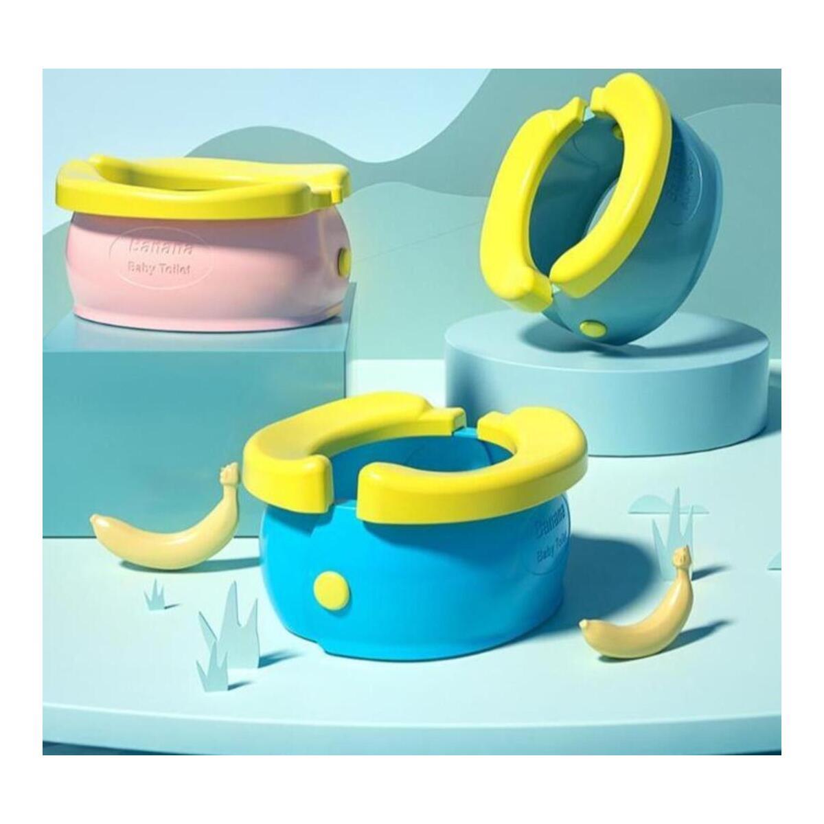 Portable Training Seat Baby Banana Potty Toddler Friendly Toilet