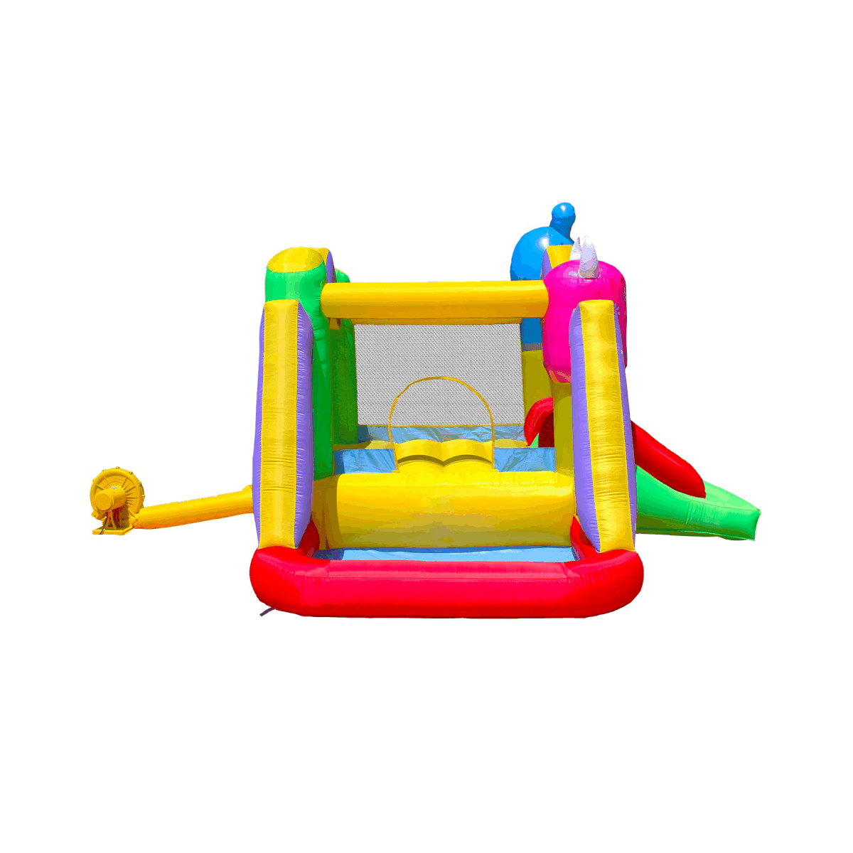 Monster Inflatable Bouncy Castle with Ball Pit - For Outdoor Fun!