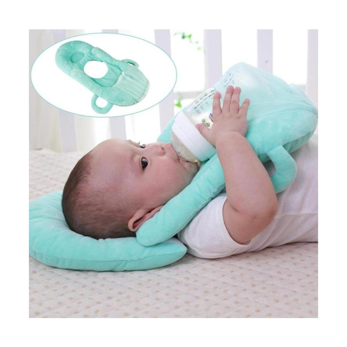 Baby Learning Nursing Pillow Cushion Baby Free Hand Bottle Holder Cotton Infant Multifunctional Feeding Breastfeeding Pillow