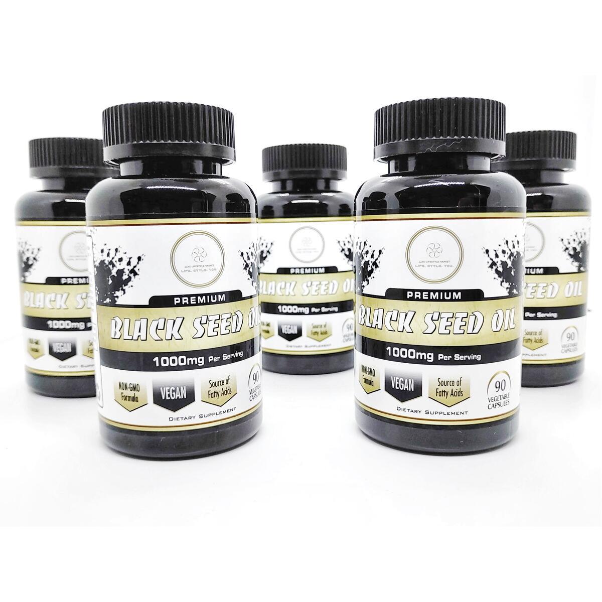 Premium Black Seed Oil - 1000mg