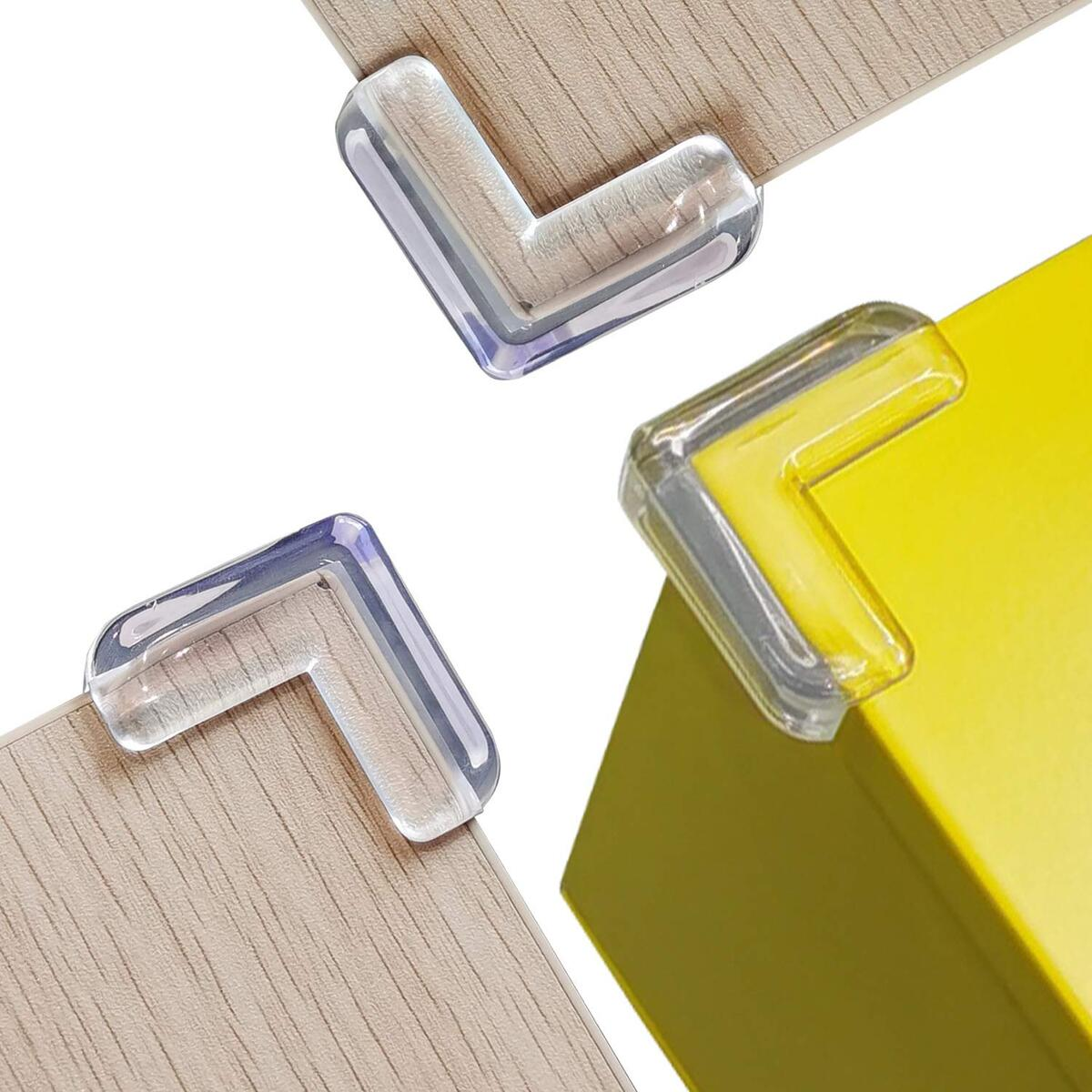 Corner Protector (16 Pack), Clear Corner Guards for Baby Proofing, Table Corner Protectors for Baby Furniture Safe Table Bumpers