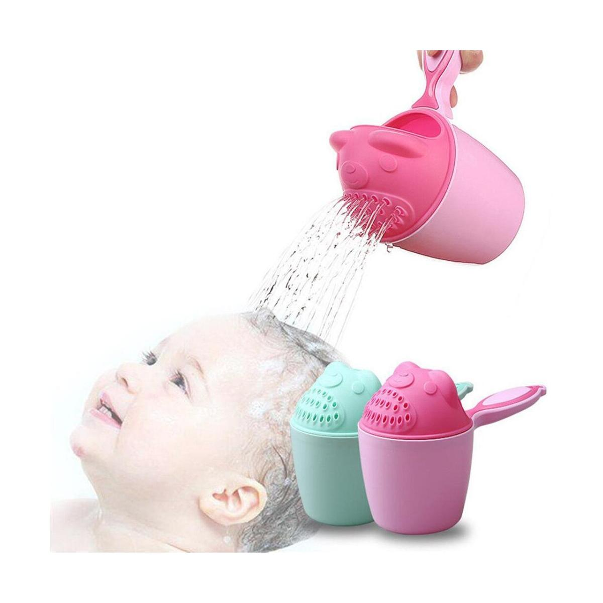 Baby Bath Waterfall Rinser Kids Shampoo Rinse Cup Bath Shower Washing Head