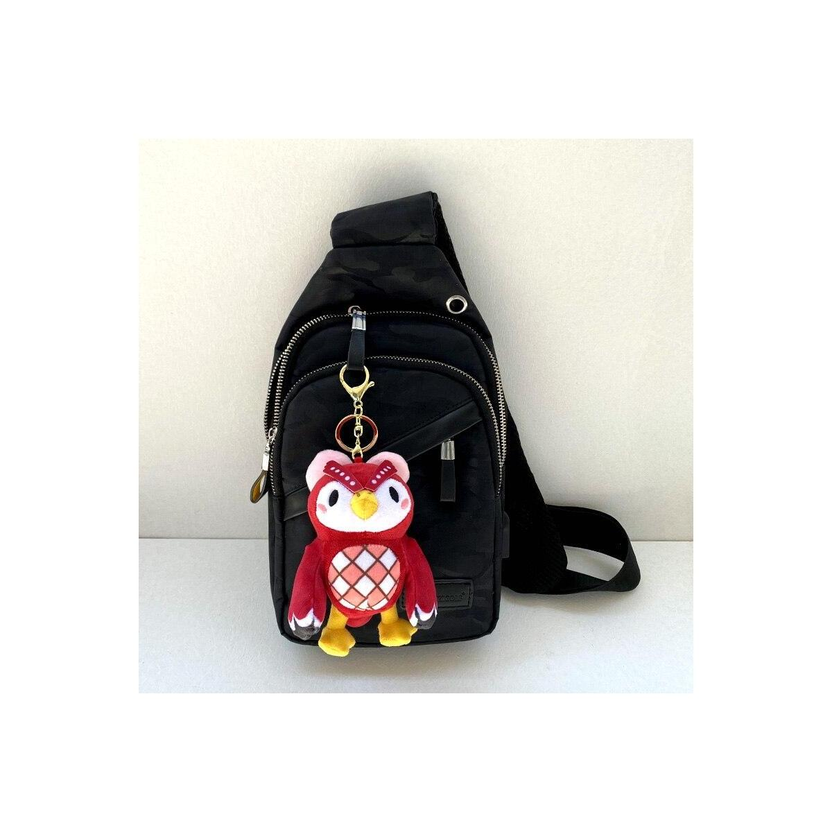Animal Crossing Plush Villager Keychains, 12cm-Tom nook