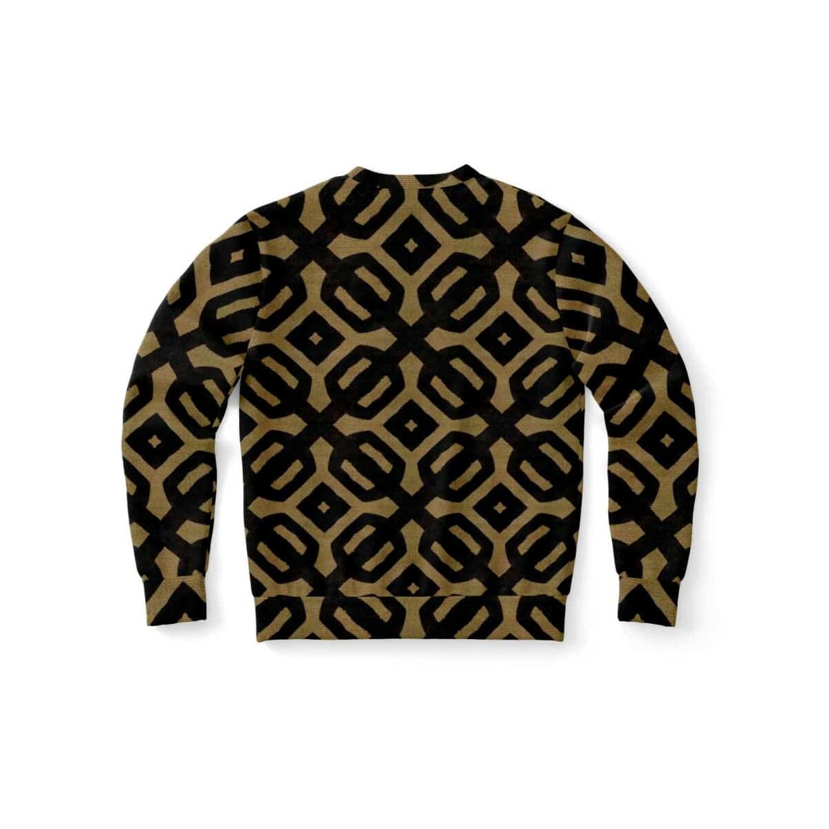 Brown Black Bogolan Sweatshirt