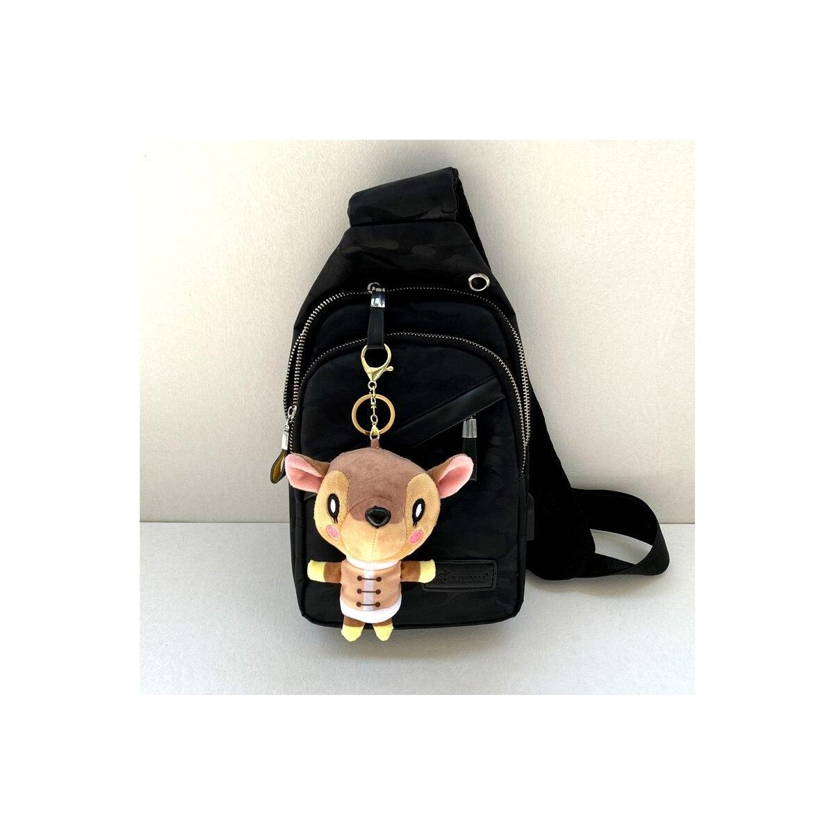 Animal Crossing Plush Villager Keychains, 12cm-celeste