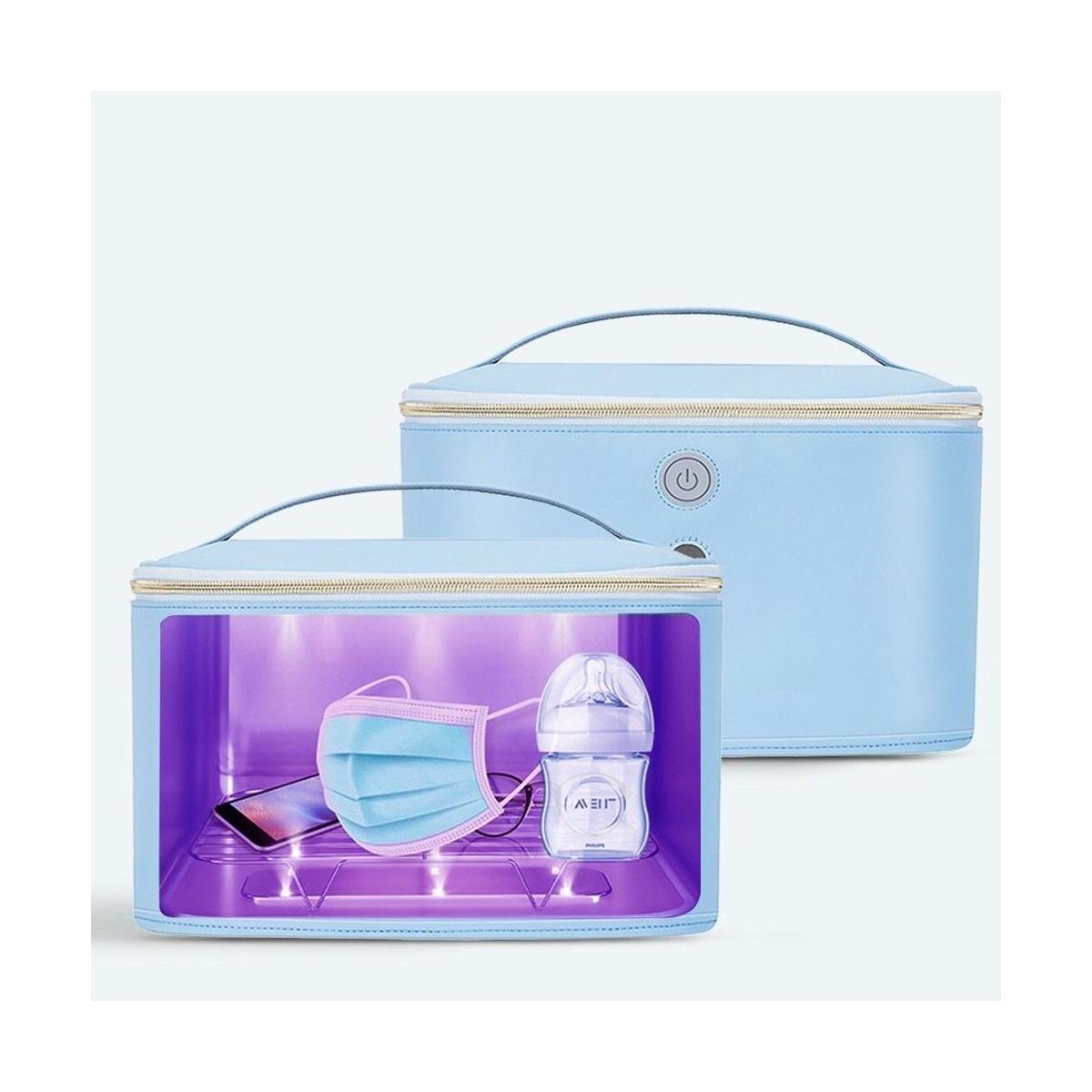 Baby Disinfection Box UV Sterilizer Bag USB UV Disinfection Bag Sanitizer Cleaner Portable Sterilizer Bag