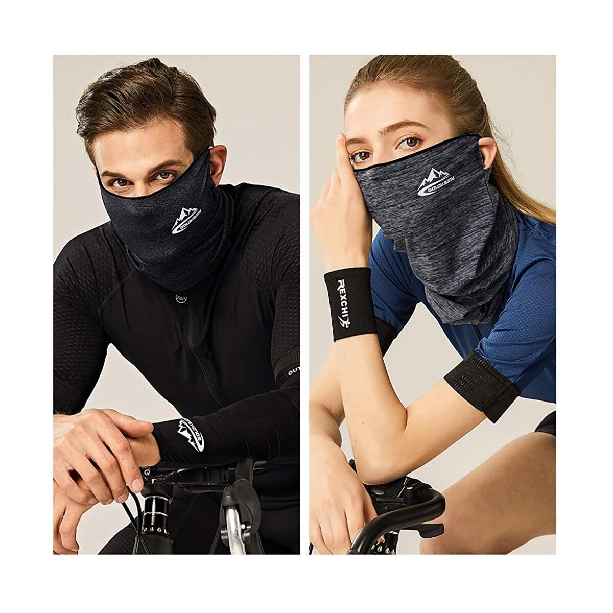 Summer Face Mask UV Protection Neck Gaiter Scarf Sunscreen Breathable Bandana
