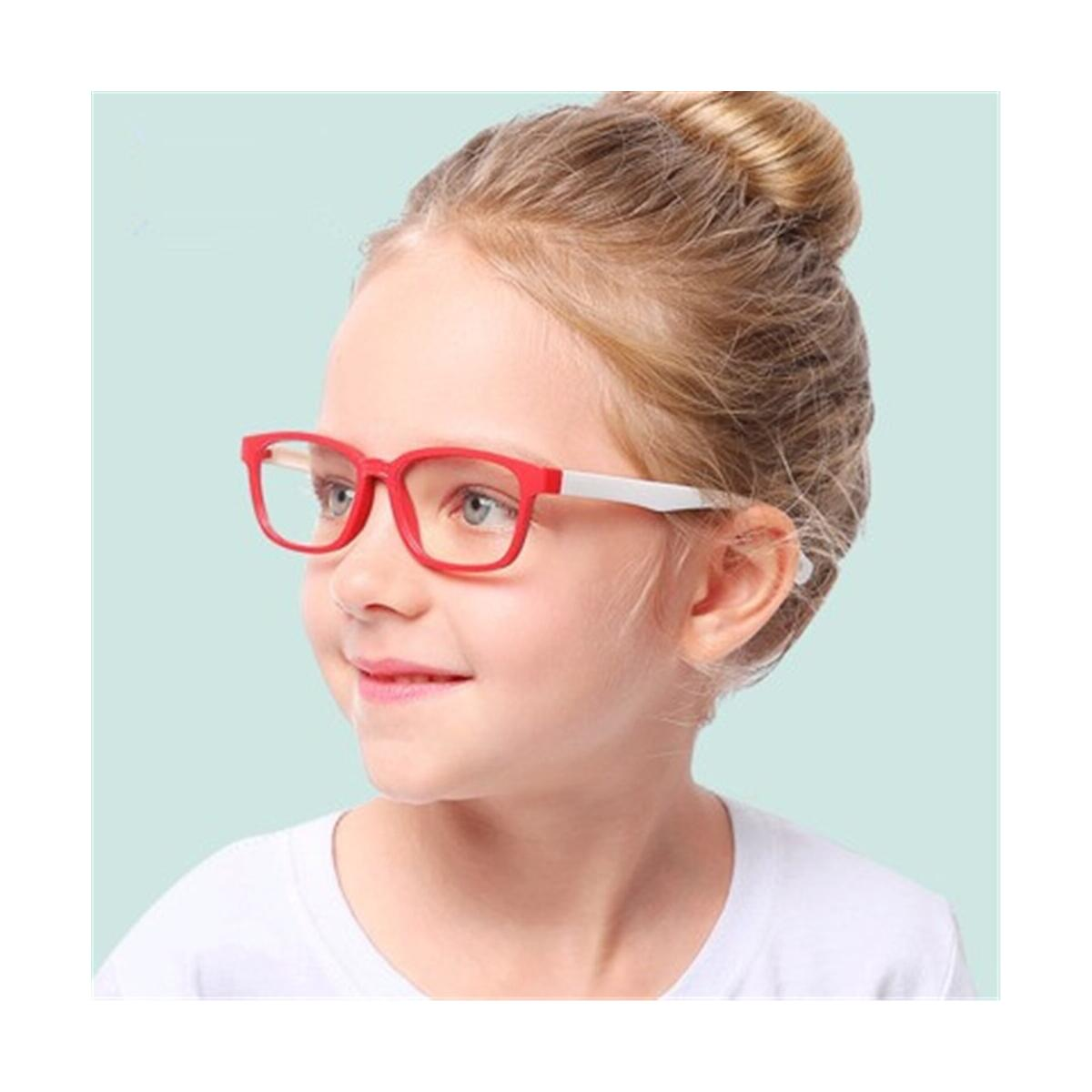 Kids Blue Light Blocking Glasses for Kids Silicone Flexible Eyeglasses Frame