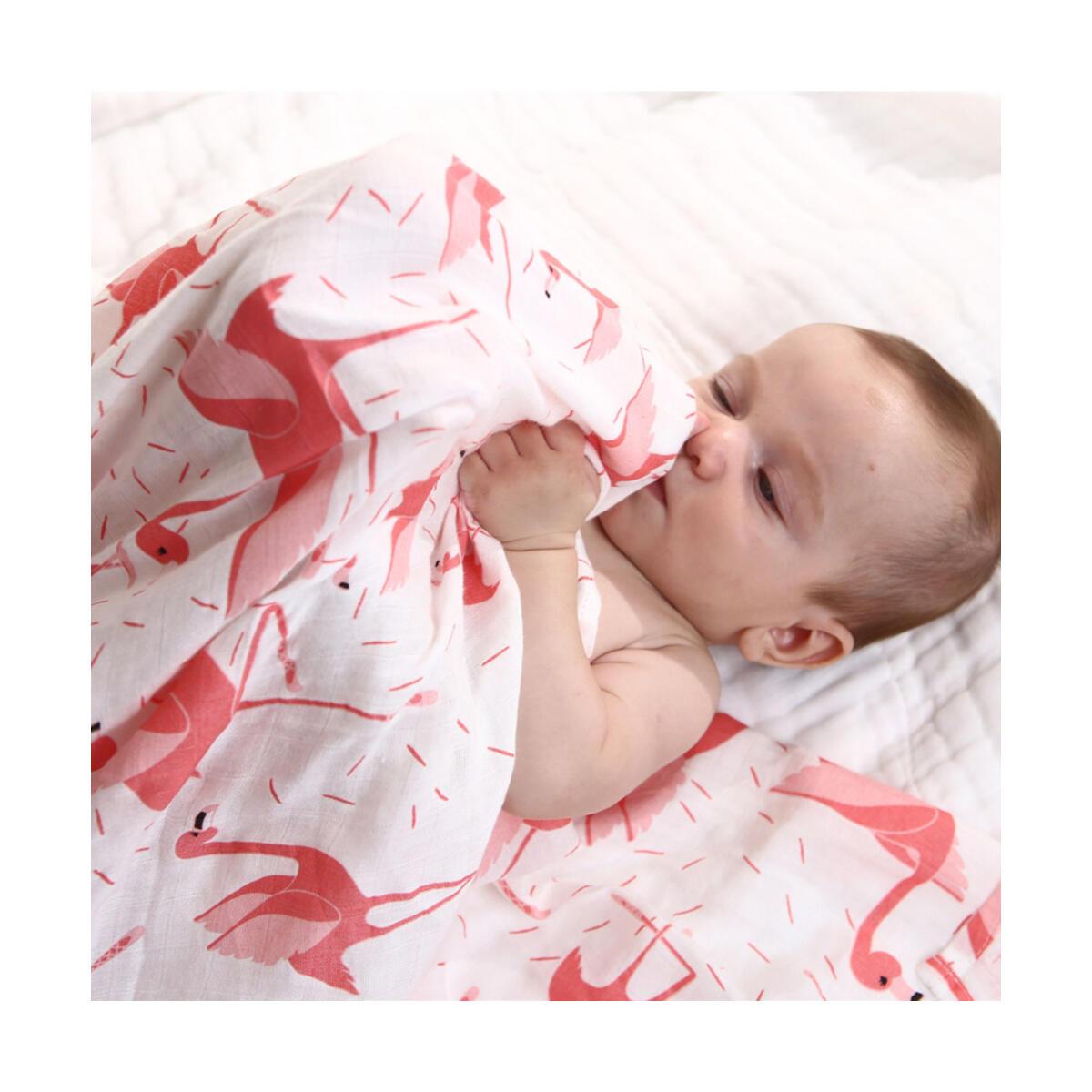 Organic Bamboo Cotton Baby Muslin Swaddle Blanket towel burp Soft cloth cover gauze newborn infant diaper wrap