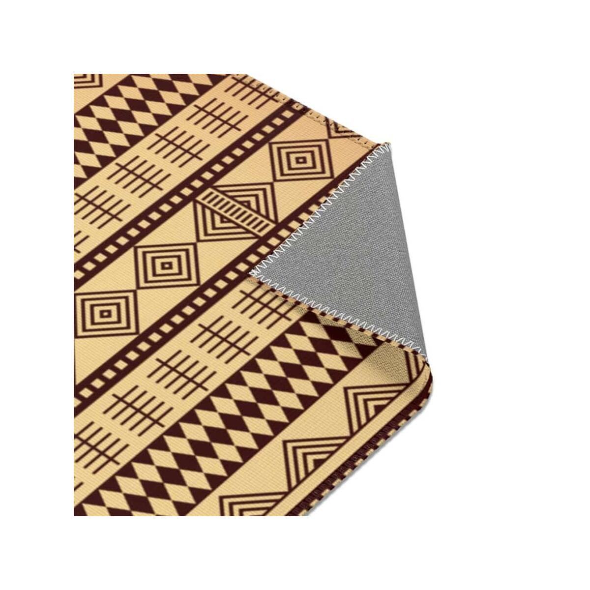 Brown Afrocentric Area Rugs