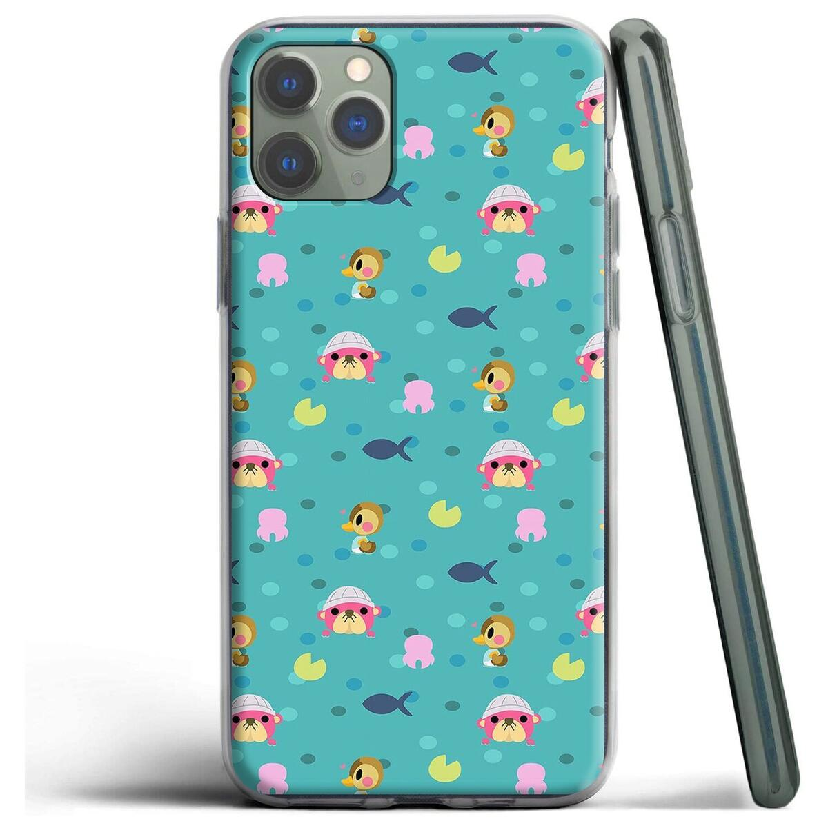 Animal Crossing Silicone Case for Apple iPhone, for iPhone XS / 2
