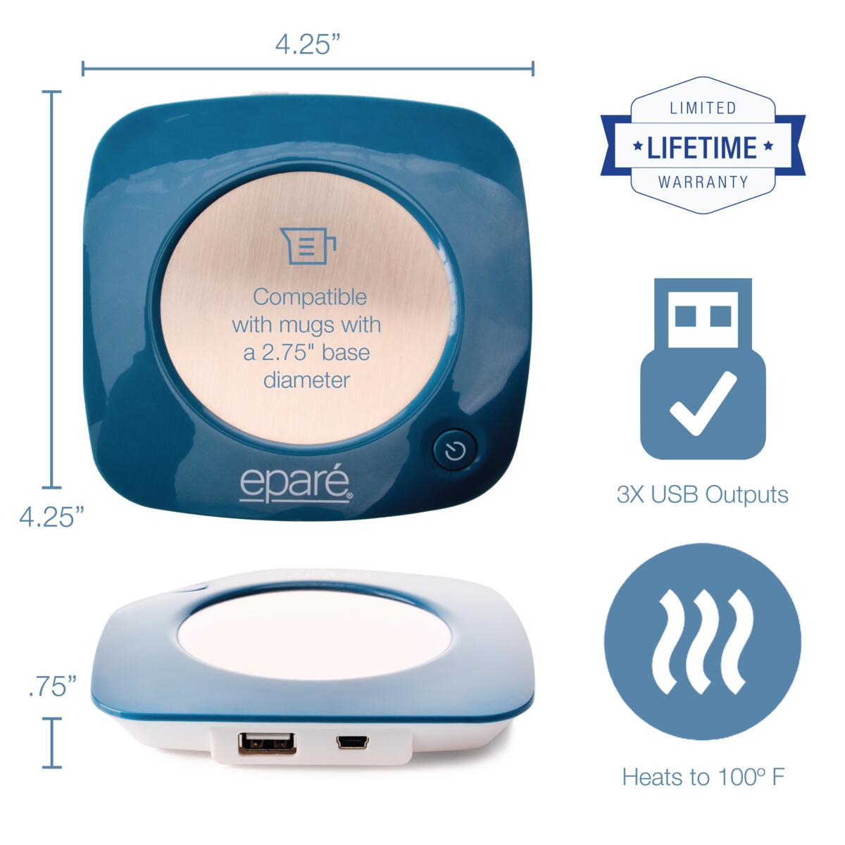 Eparé USB Mug Warmer 2.0