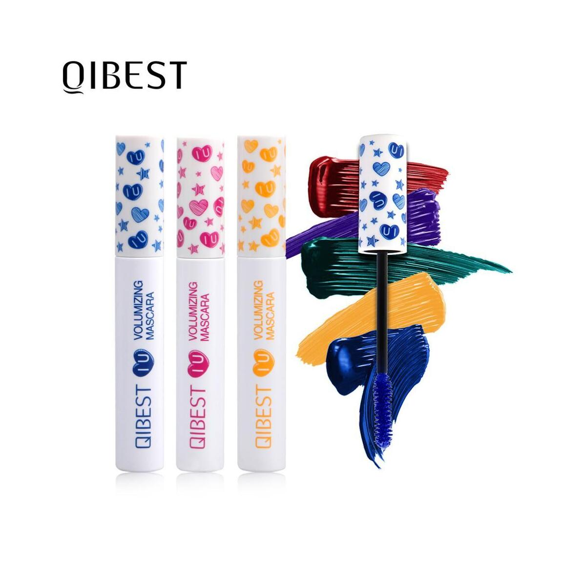 QIBEST Colorful Mascara, 6