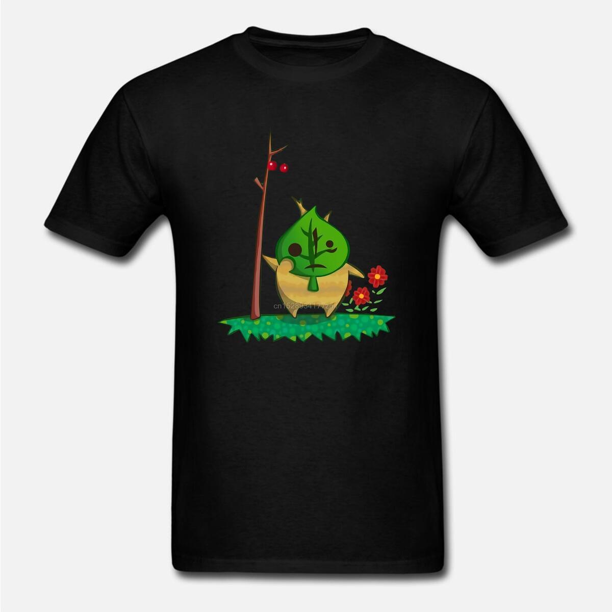 Animal Crossing Style Korok Shirt, Women Green / M