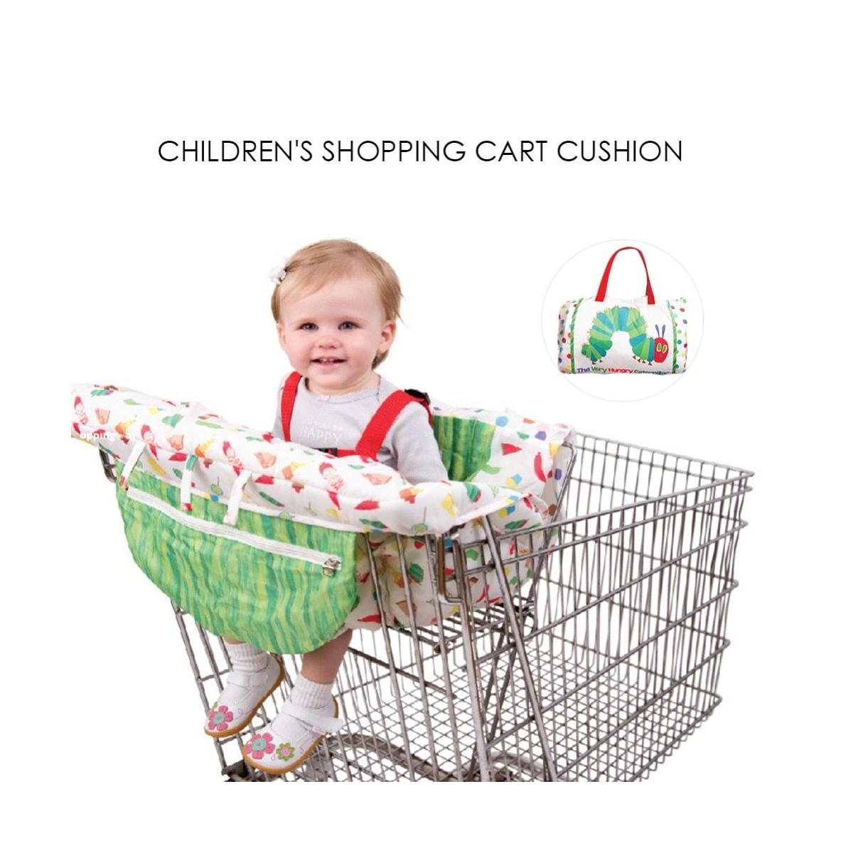 Baby Shopping Cart Cushion Kids Folding Trolley Pad Newborn Shopping Multifunctional Push Cart Protection Cover Baby Chair Seat Mat