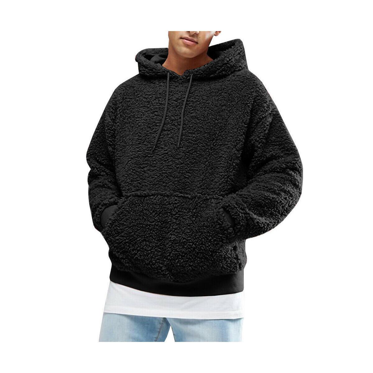 Sherpa Pullover Hoodie