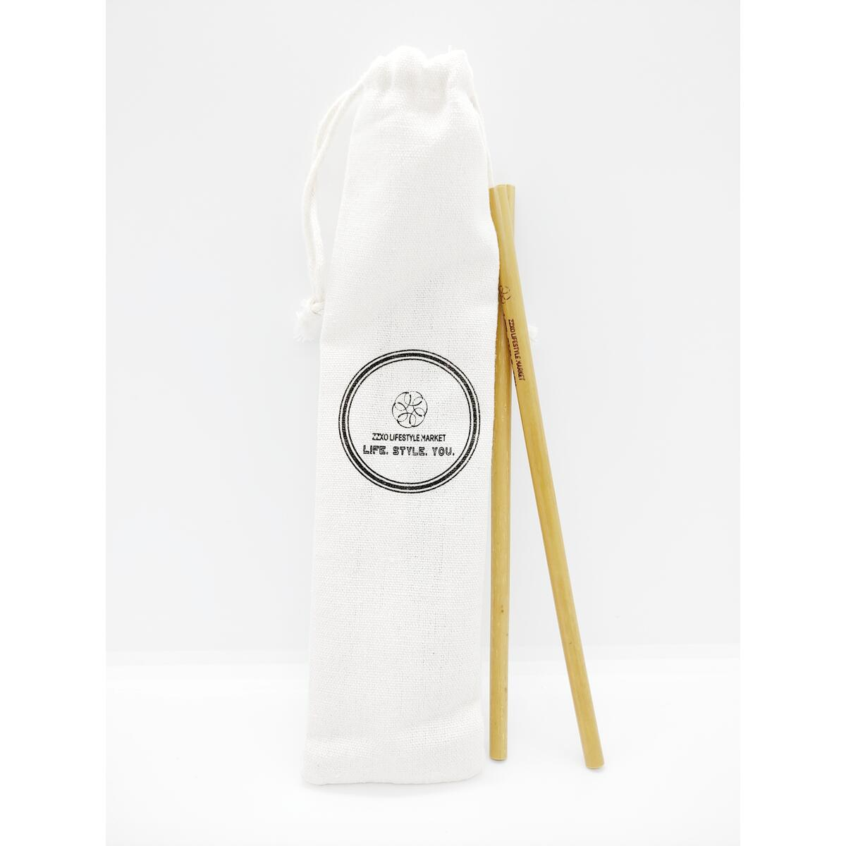 Eco Friendly - Reusable - Bamboo Straws (5pk)
