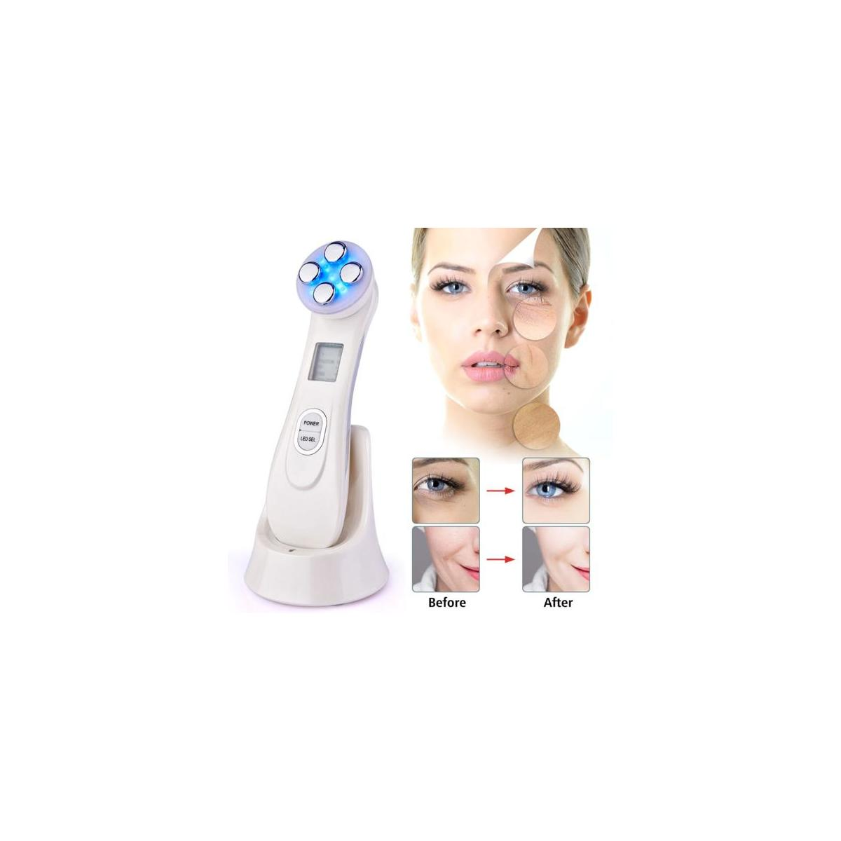 LED Photon Radio Frequency Skin Rejuvenation EMS Mesotherapy for Anti-Wrinkle Face Lift