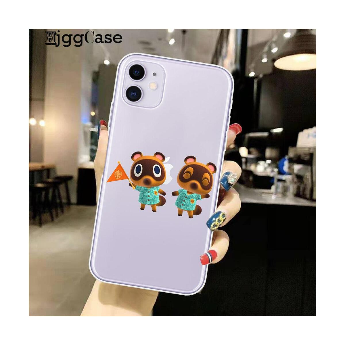 Animal Crossing New Horizons Silicone Phone Cases For iPhone, For iPhone 11Pro Max / D1015