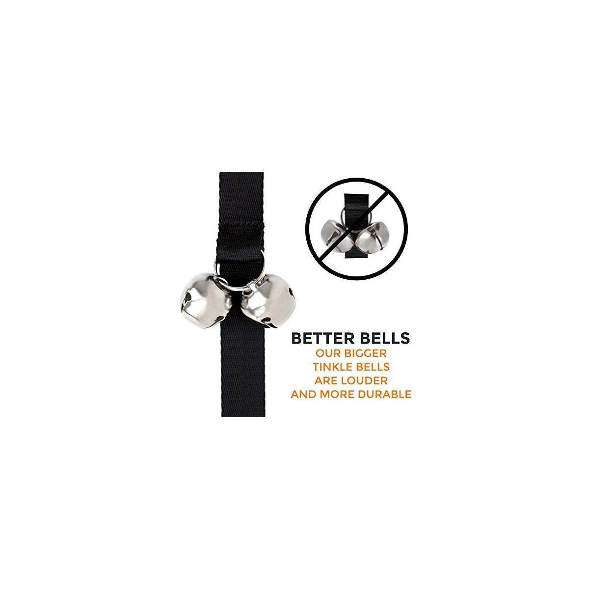 Mighty Paw Tinkle Bells, Premium Quality Dog Doorbells, Housetraining Doggy Door Bells for Potty Training