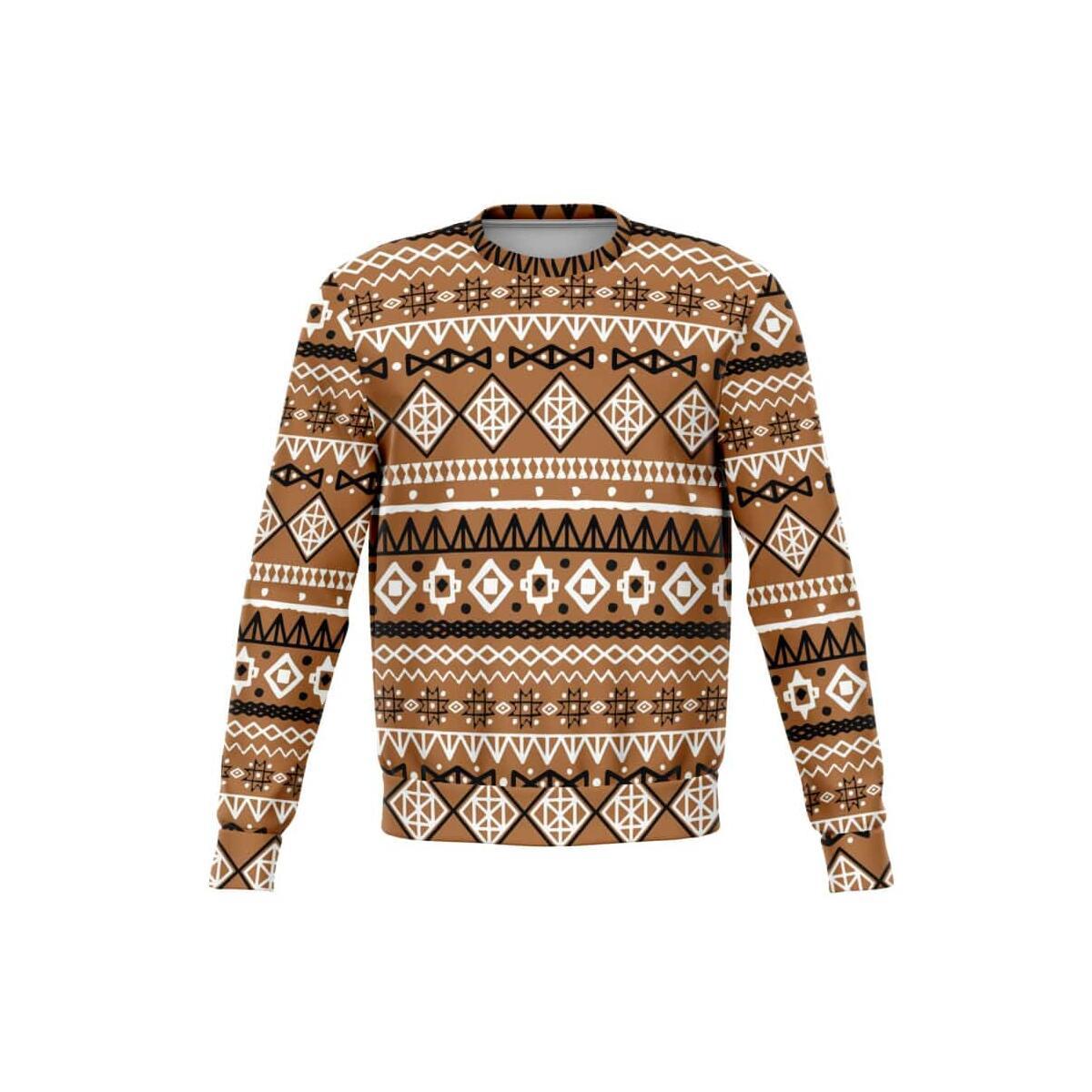Brown Afrocentric Sweatshirt