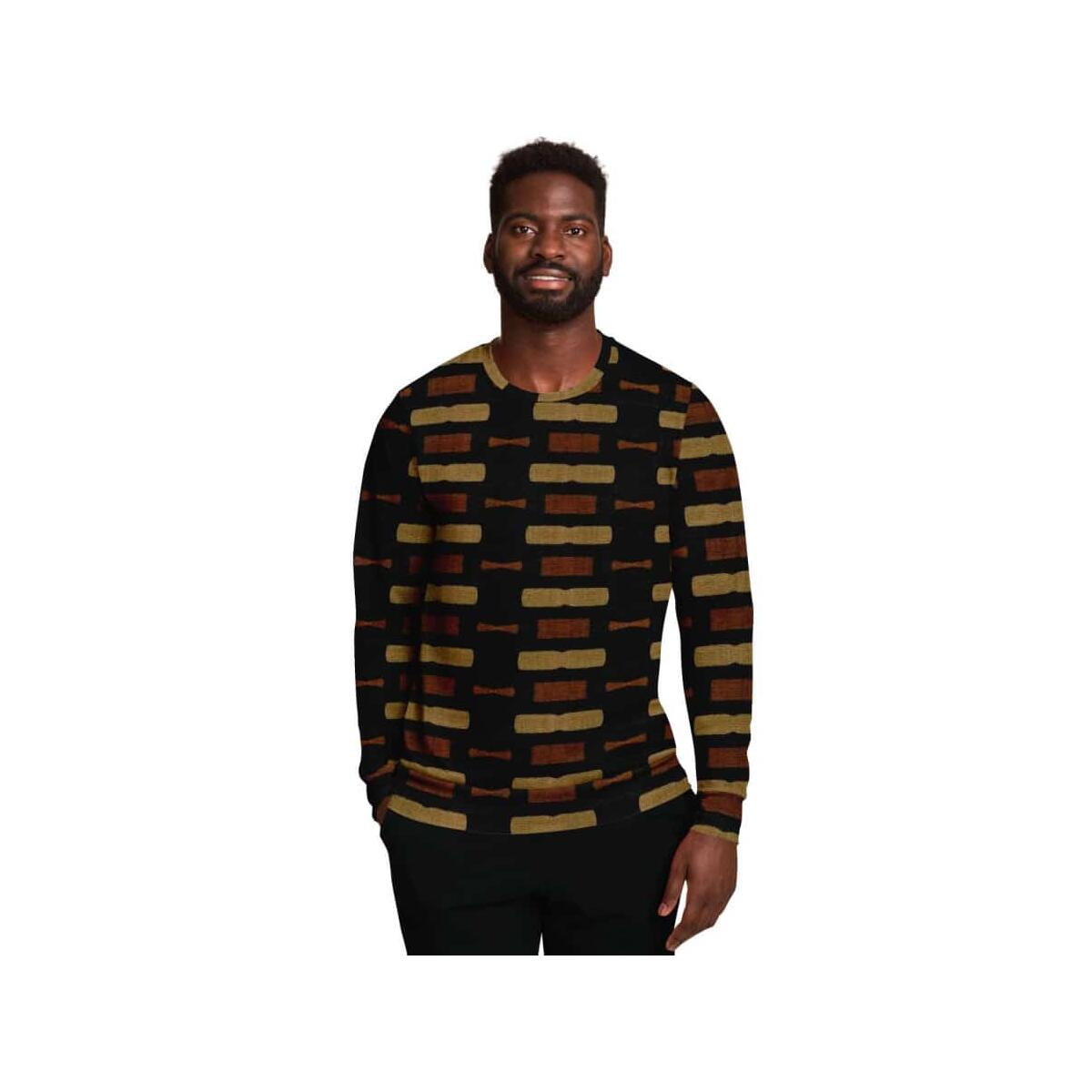 Afrocentric Bogolan Sweatshirt