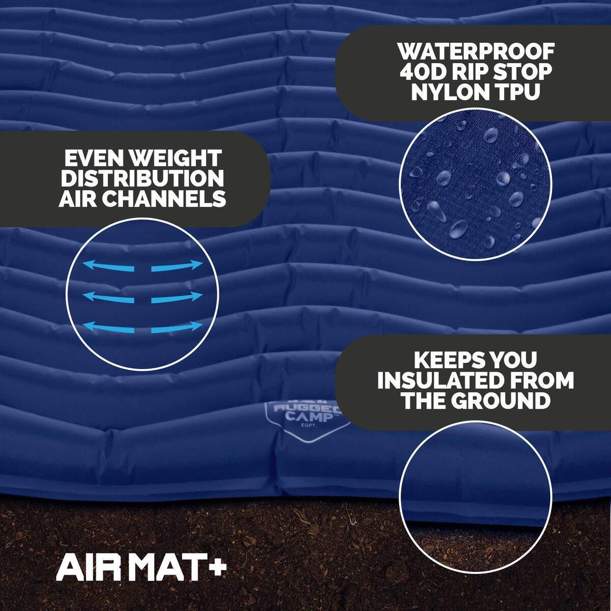 Air Mat+, Blue