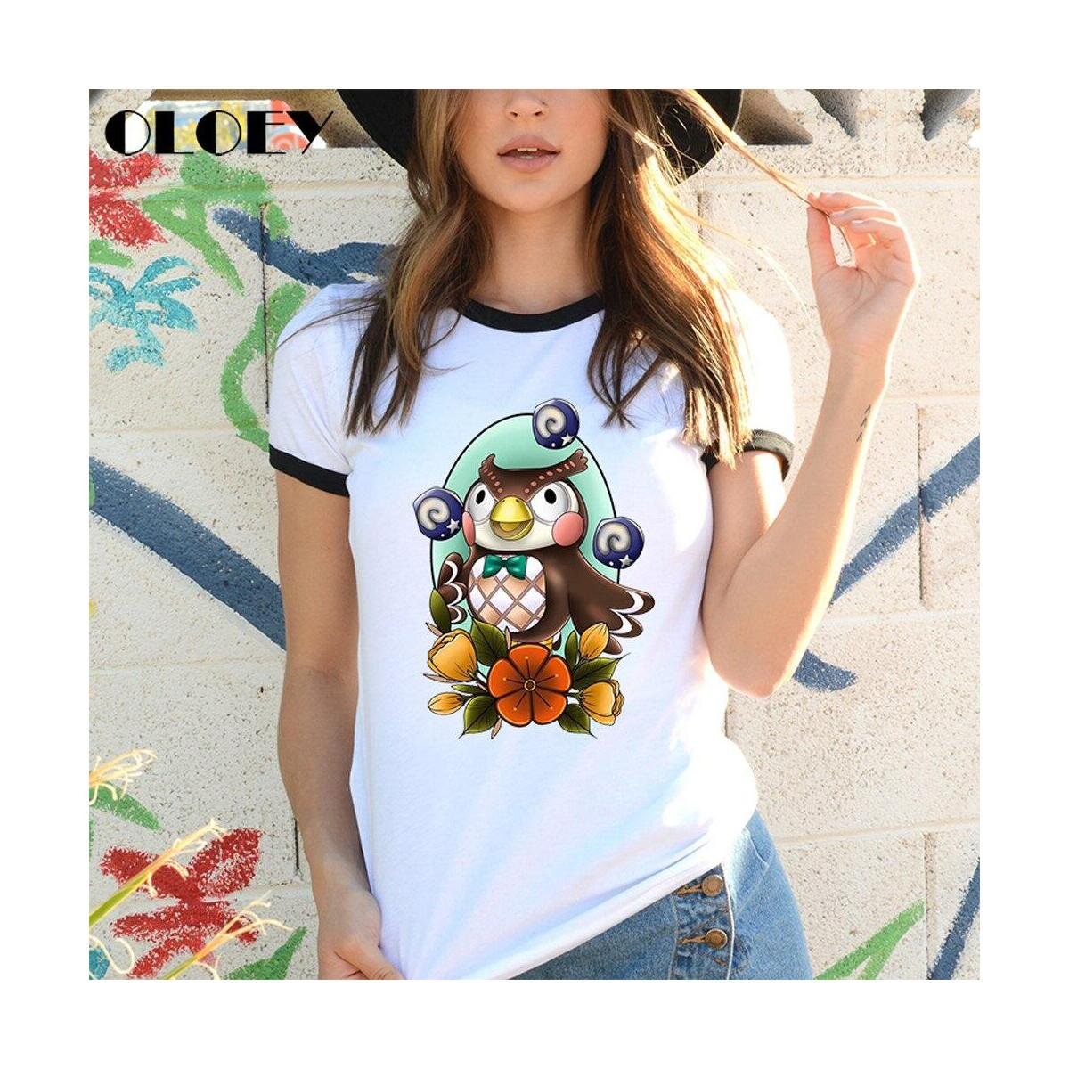 Animal Crossing Characters Tattoo Style Shirts, Resetti / L