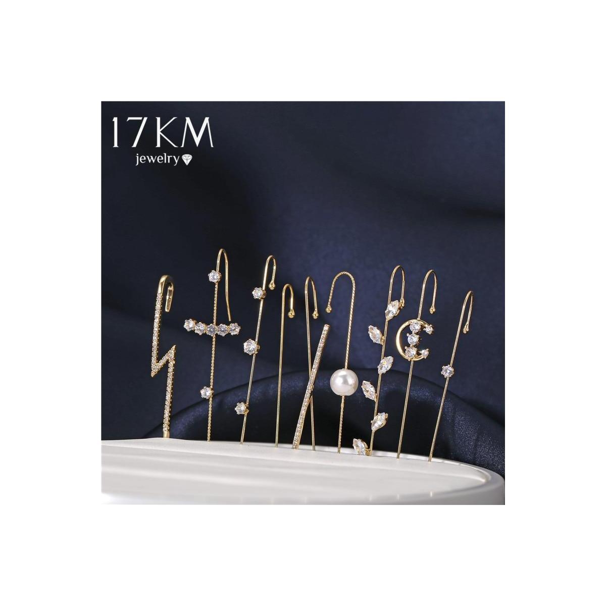 Bohemian Ear Wrap Hook Earrings, CS5203903