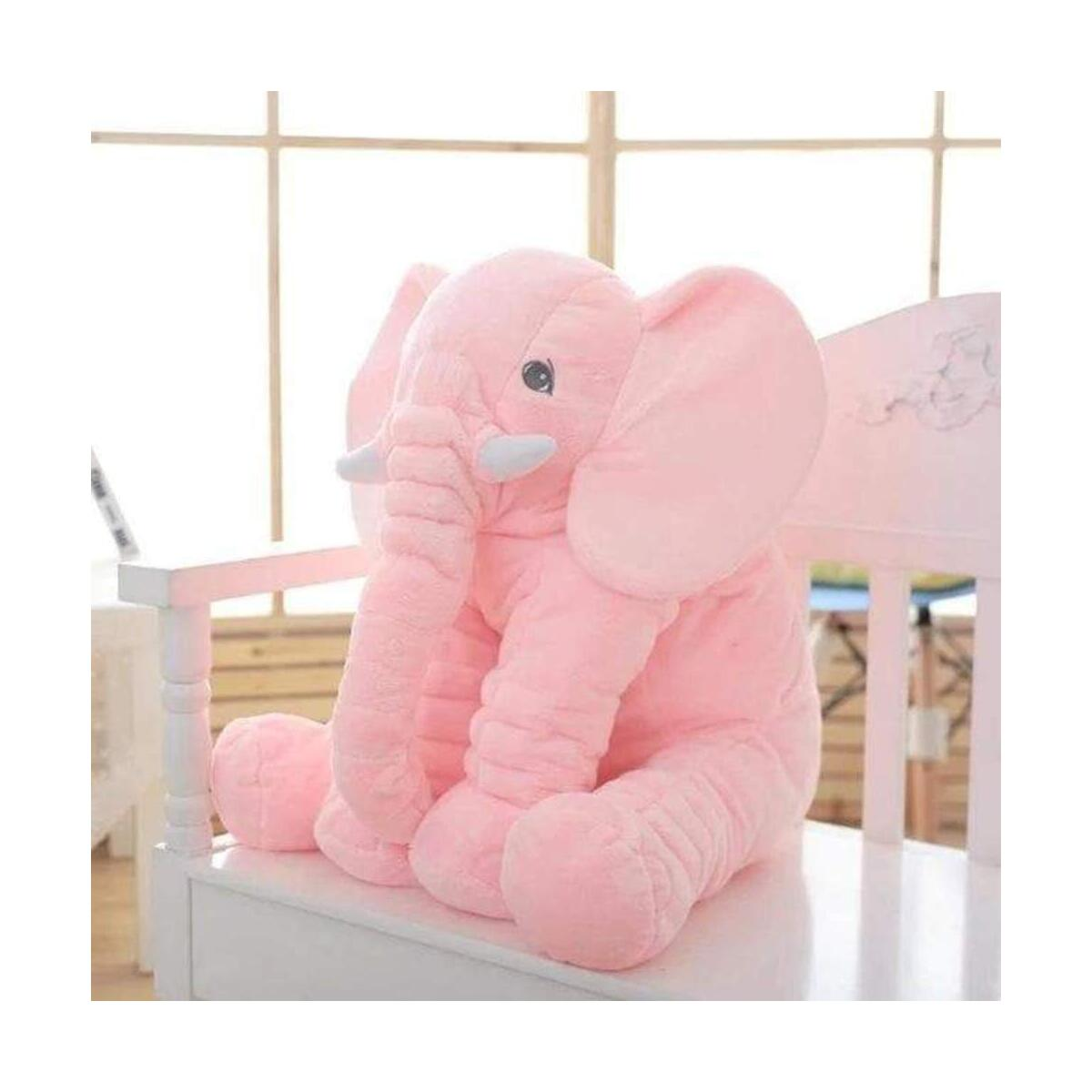 Baby Elephant Cushion Cute Stuffed Animals Pillow Kids Sleeping Back Cushion Toy