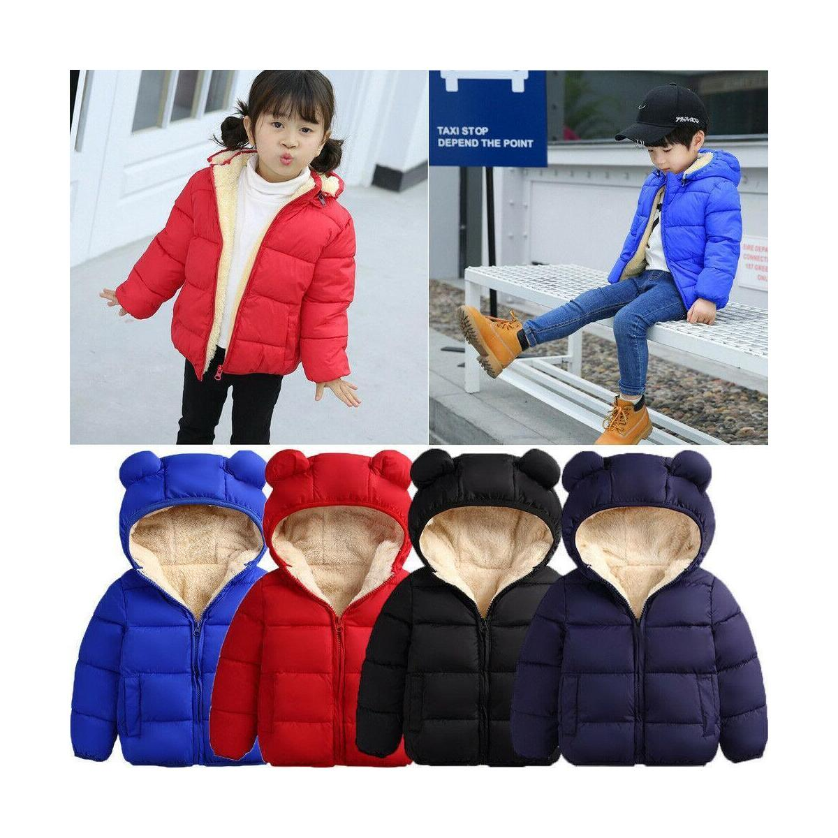 Baby Coat Boys Winter Jackets For Children Hooded Coats Infant Coats Newborn Clothes Kids Snowsuit Thicken Clothes