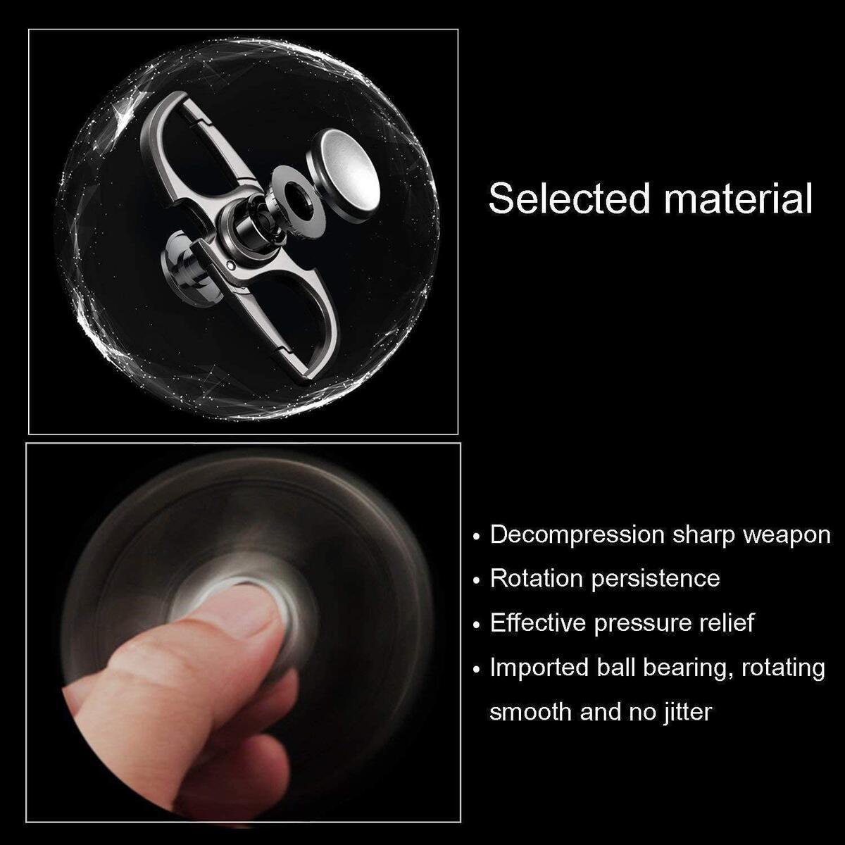 Fingertip Spinner Keychain Bottle Opener, Men's Creative Customization Keychain With Gift Box