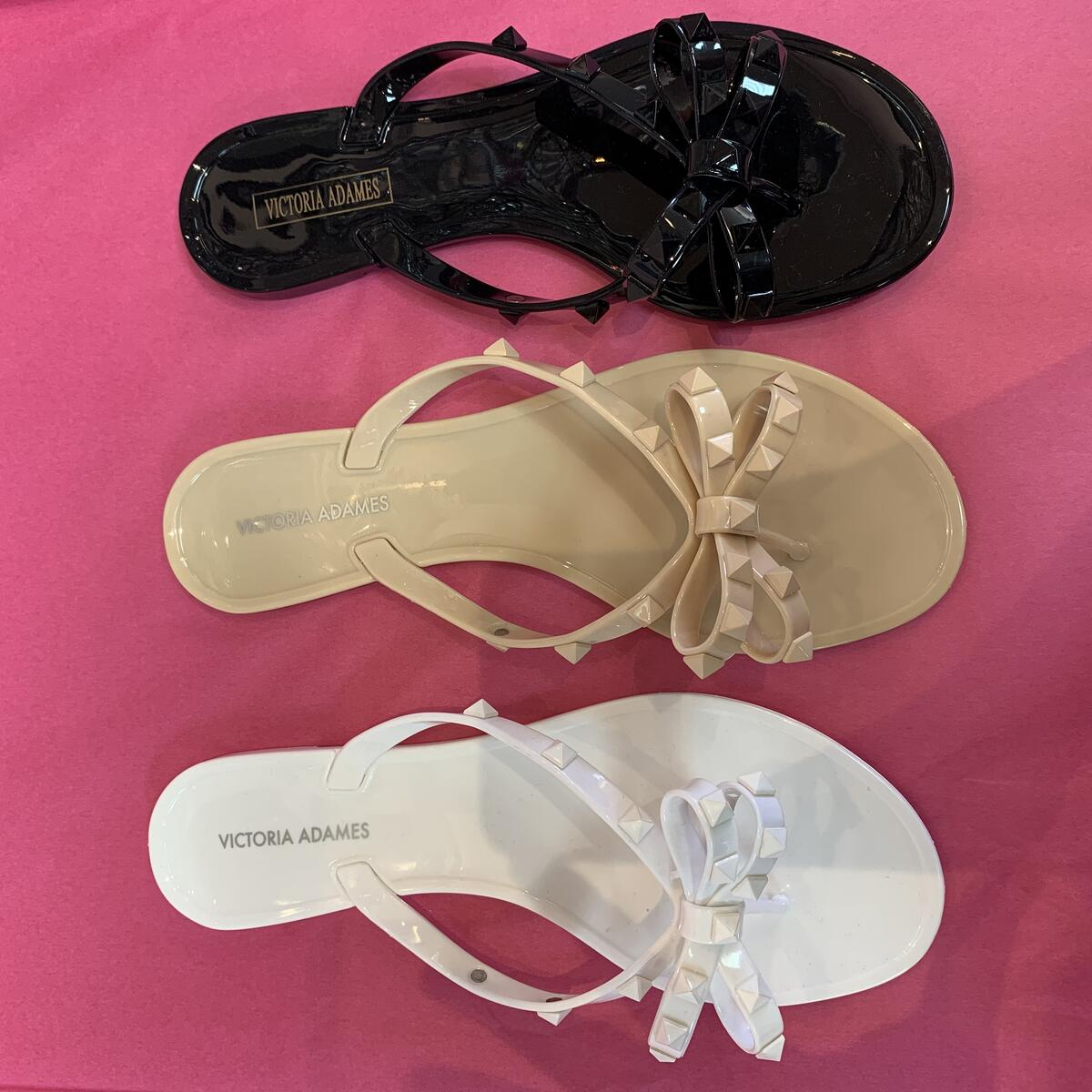Jelly Sandals Studded Choose color