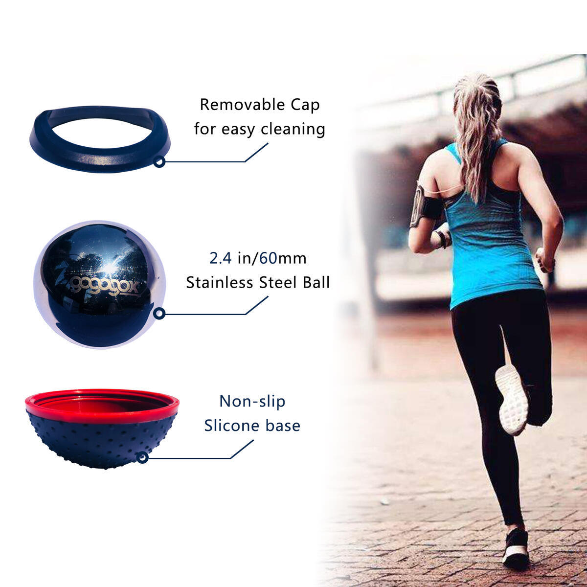 Cryosphere Cold Massage Roller Ball