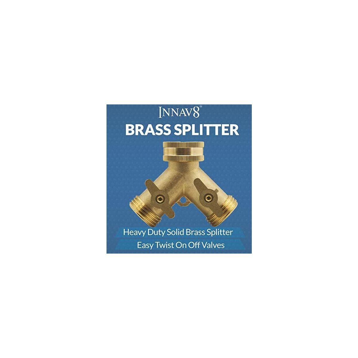 INNAV8 Brass Hose Splitter
