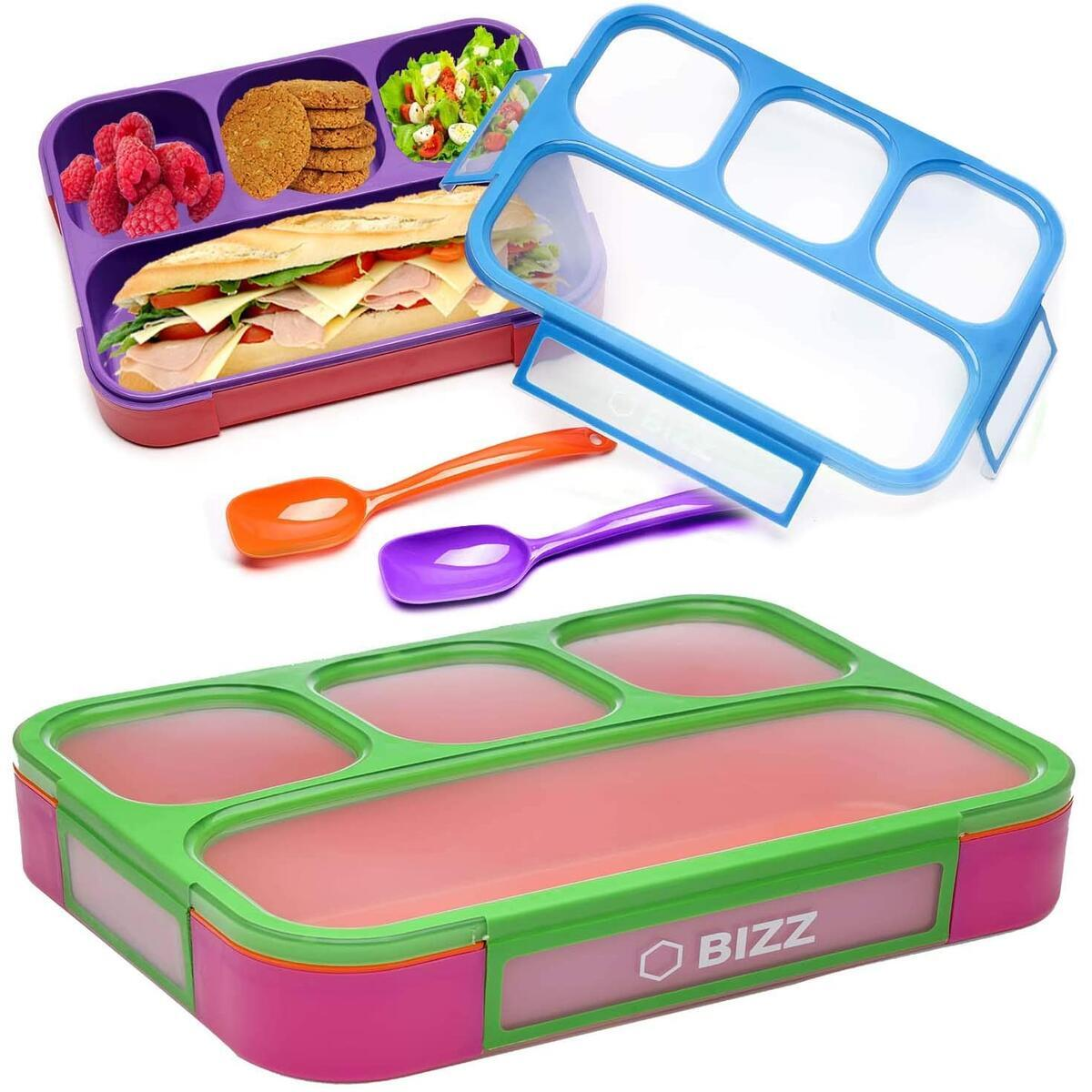 Bent Box - Back to School Lunch - Spoon included - 2pk