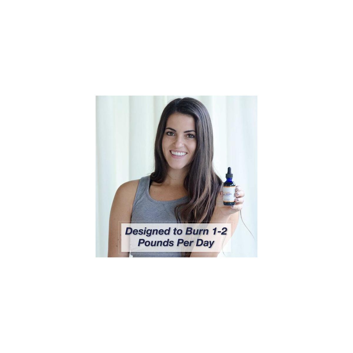 Pounds & Inches Drops Weight Loss Drops & Program - Single Bottle