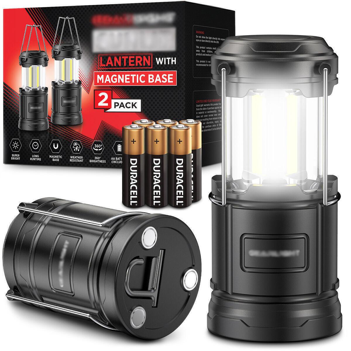 LED Camping Lantern (2 Pack)